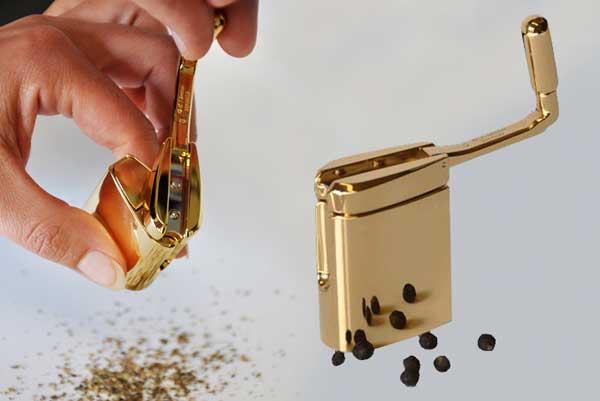 Silberne Minipfeffermühle Le Clou, Neuheiten ~ Geschirrspülmaschine Salz Nachfüllen